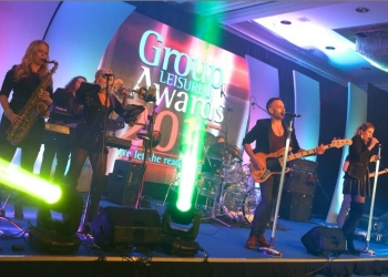 7 piece band – Birmingham Hilton NEC, Group Leisure Awards October 21st 2015