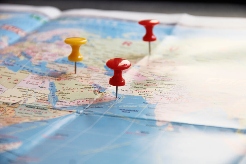 Map with pins iStock_000050750954_Small