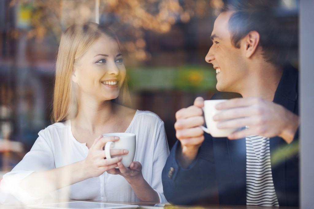 Enjoying Fresh Coffee Together