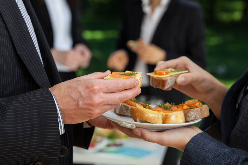 Food at a business/corporate event