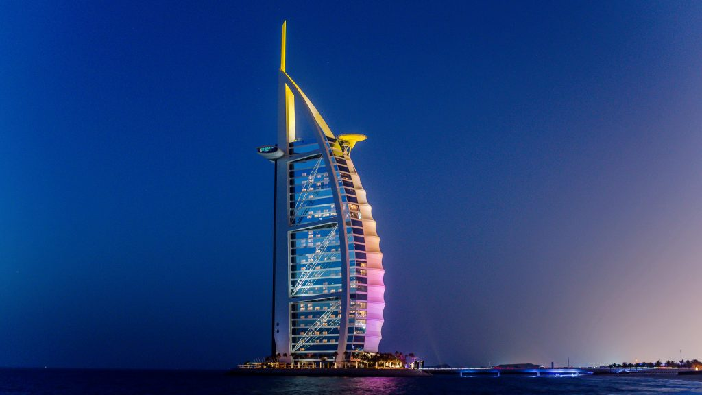 The Talent has played at the Burj Al Arab hotel numerous times.
