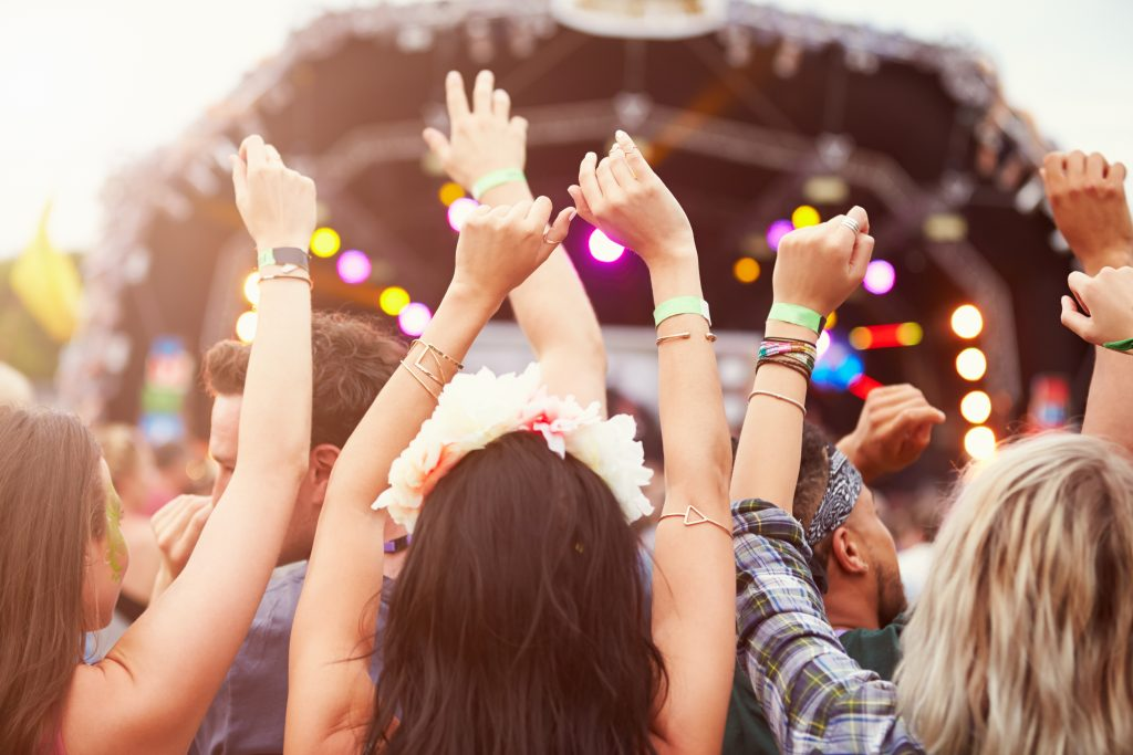 Recreate the summer festival atmosphere with bands from The Talent