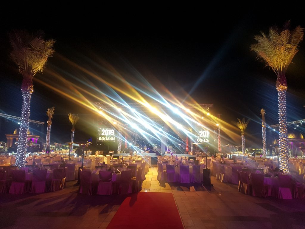 Emirates Palace NYE Performance